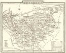 CHESHIRE. County map. Polling places. Coach roads. DUGDALE 1845 old